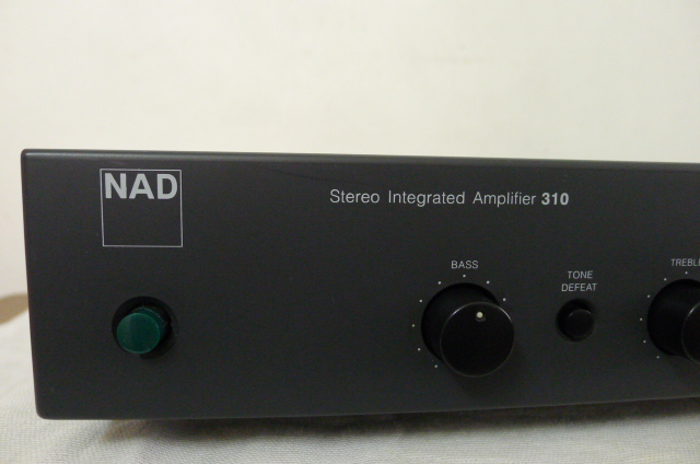 NAD 310 integrated amp (sold) P1060841