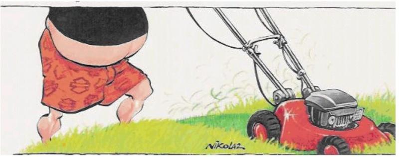 """Ma tondeuse """"Competizione"""" Bikers11"""