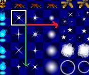 """[résolu] Comment bien animer les """"points brillants"""" dans le jeu Flame_10"""
