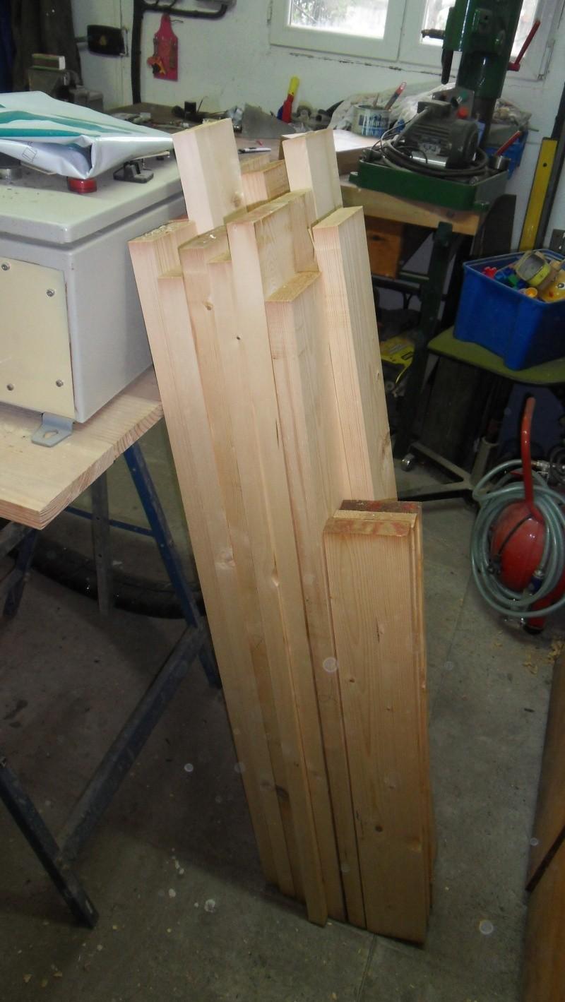 Fabrication d'une paire de volets Sdc13513