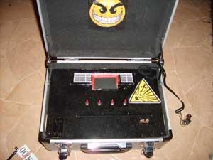 Bombe à minuteur et code de désamorçage Sd538134