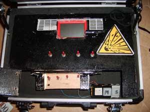Bombe à minuteur et code de désamorçage Sd538135