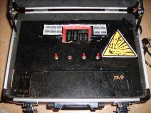 Bombe à minuteur et code de désamorçage Sd538137