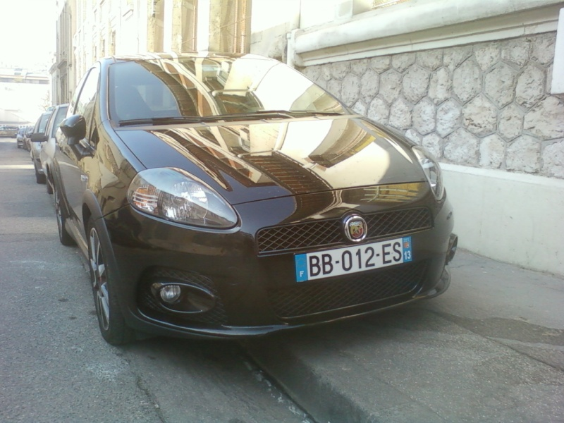 abarth grand punto 155 ch (vive le turbo) Photo-11