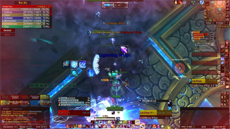 Lei Shen 10 man down Throne of Thunder Normal Clear Vlcsna11