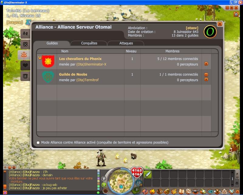 Dofus 2.13 - Guerre des Guildes Paneau10