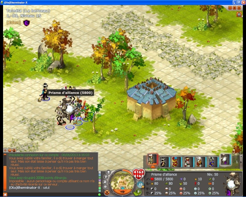 Dofus 2.13 - Guerre des Guildes Test110