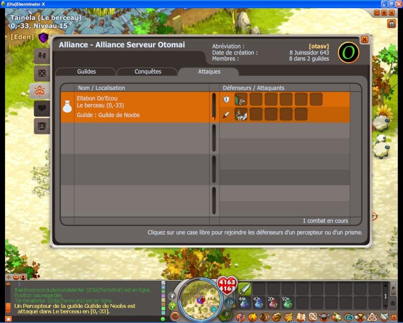 Dofus 2.13 - Guerre des Guildes Test310