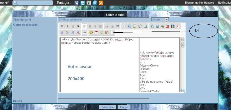 Aide pour la fiche de présentation Xx11