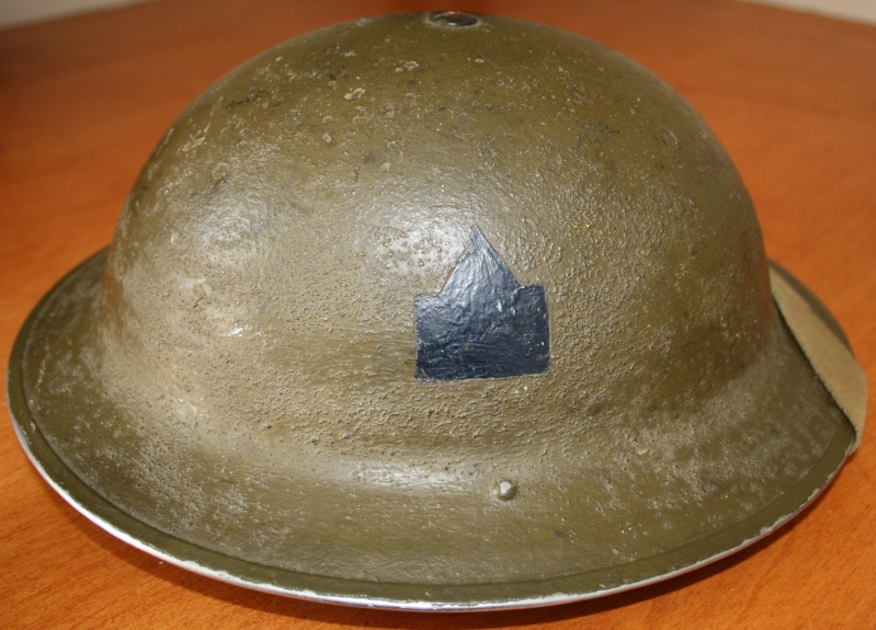 South Saskatchewan Regiment Officers Helmet Img_0310