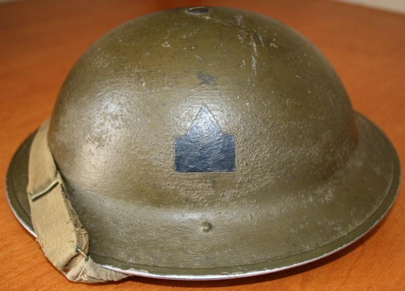 South Saskatchewan Regiment Officers Helmet Img_0311