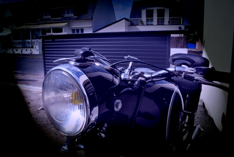 "la Vélocette se transforme en ""rosbife"" ... B410"