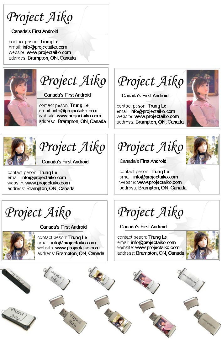 Contest: Project Aiko logo for business card and usb key. Pabc112