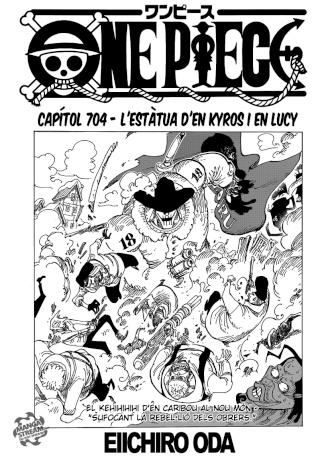 [Manga] One Piece #704 0110