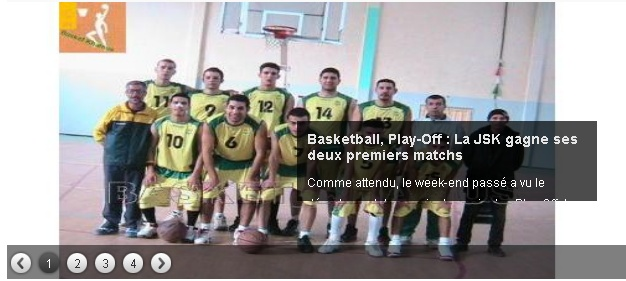 JS Kabylie : Section BASKETBALL 20130517
