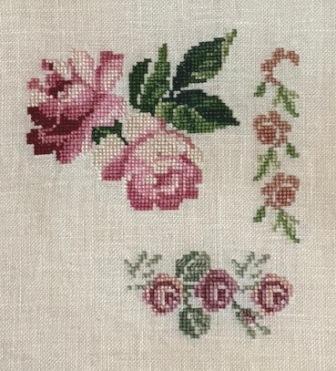 DMC Roses Sampler Img_5311