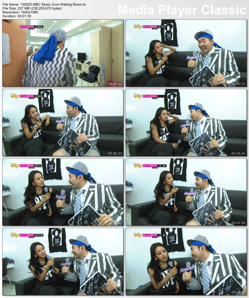 [130525] Hyori - Waiting Room, Holly Jolly Bus & Bad Girls @ MBC Music Core 13052510