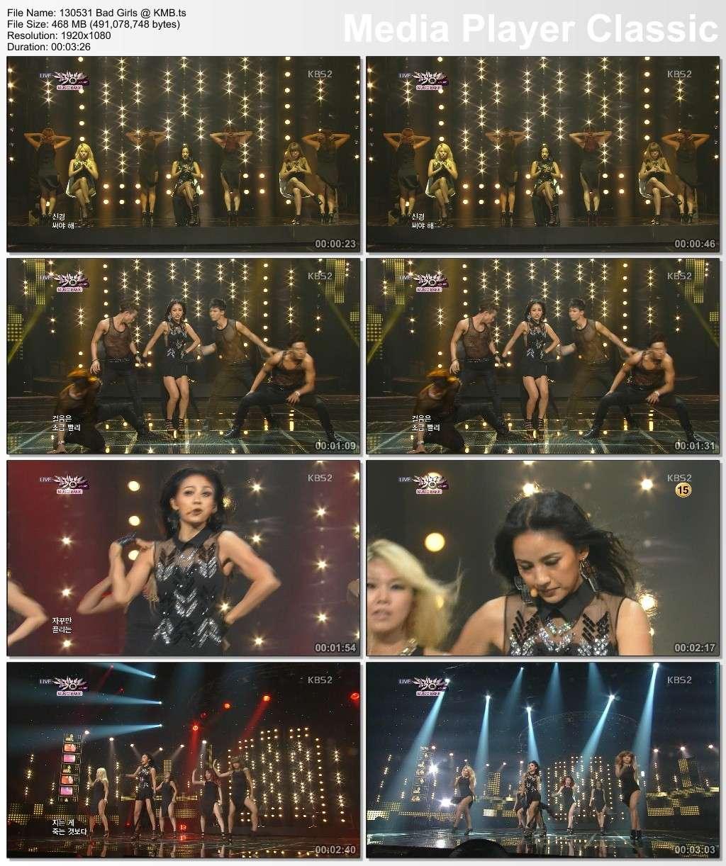 [130531] Hyori - Bad Girls @ KBS Music Bank 13053111