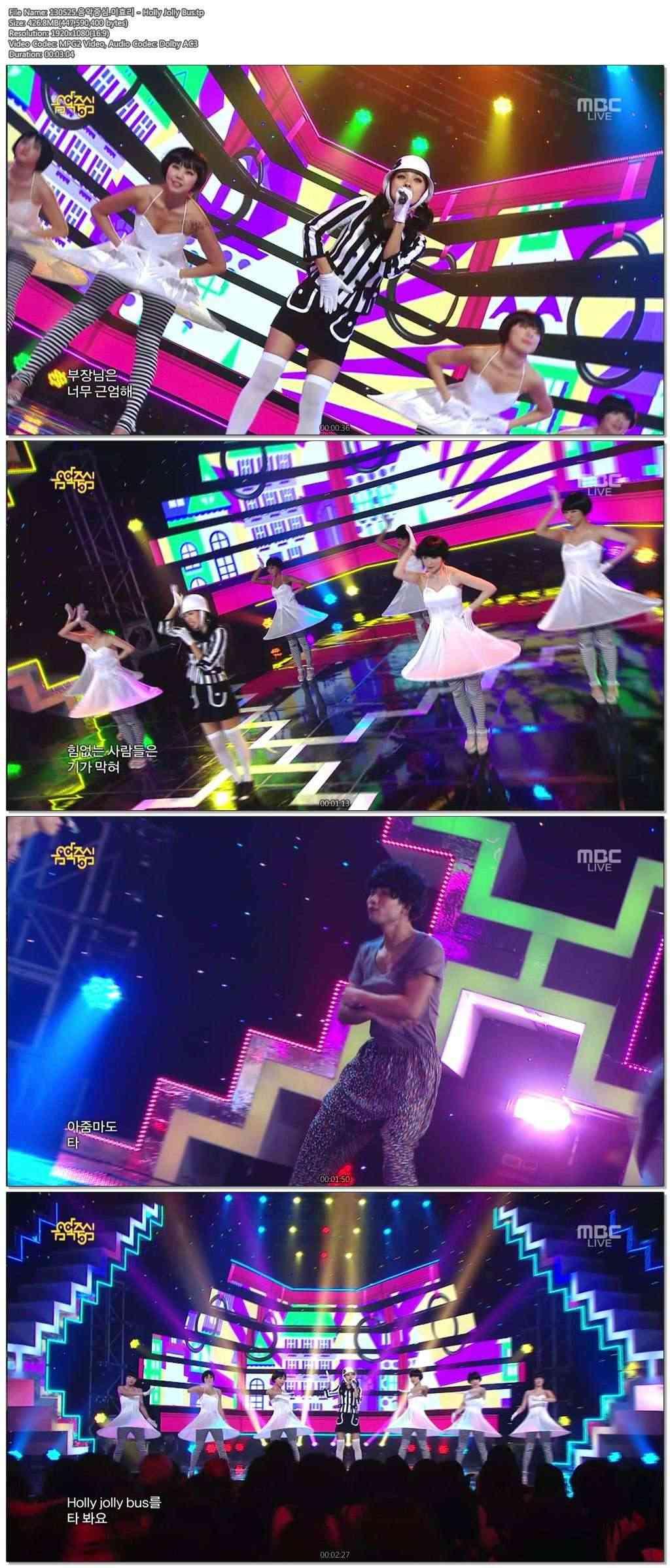 [130525] Hyori - Waiting Room, Holly Jolly Bus & Bad Girls @ MBC Music Core 7ria4g10