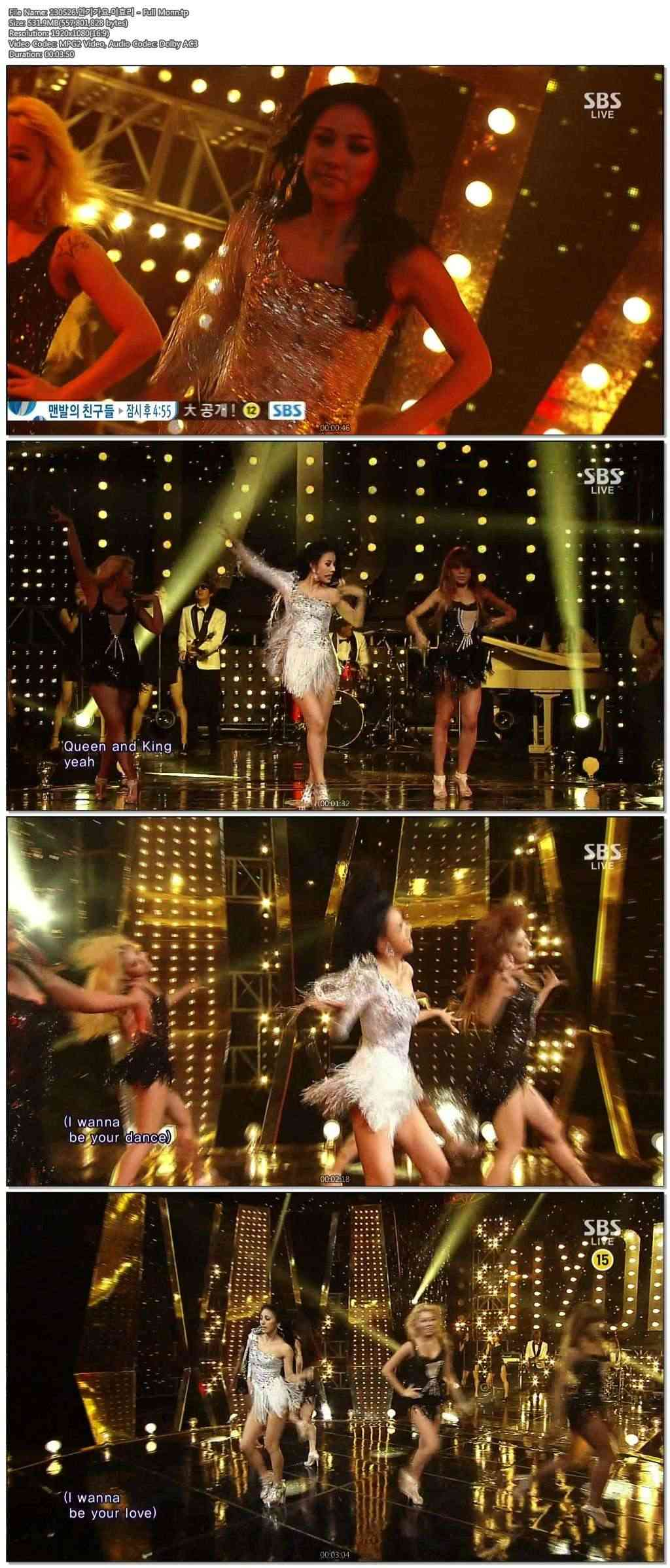 [130526] Hyori - Bad Girls, Interview, Full Moon & Ending @ SBS Inkigayo Zxymnu10