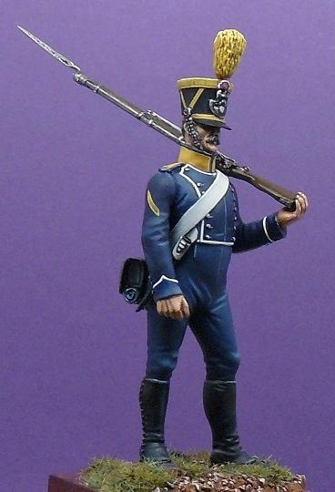 Voltigeur fourrier d'infanterie légère - 1813 Voltig10