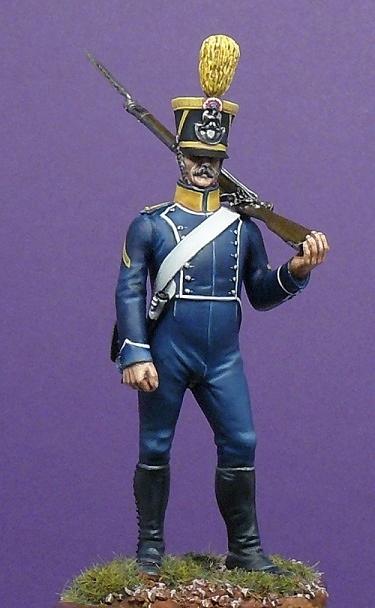 Voltigeur fourrier d'infanterie légère - 1813 Voltig11