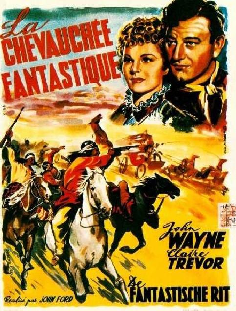 La chevauchée fantastique . Stagecoach . 1939 . John Ford . La_che10