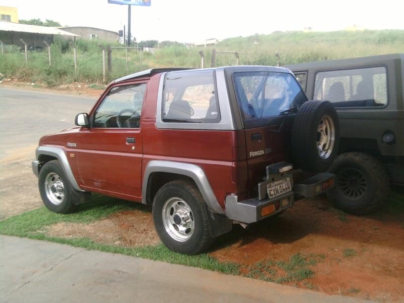 Vendo Jeep Feroza SX 97/98 Photo-11