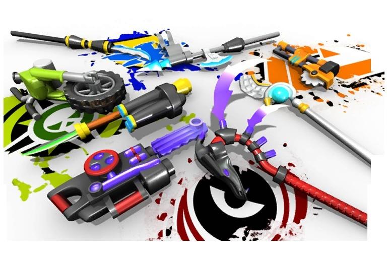 LEGO Universe - Valiant Weapons! Loadin10