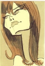 Caricatures de Françoise Hardy 07_yey15