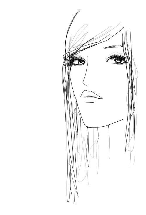 Portraits au crayon de Françoise Hardy 23830310
