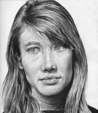 Portraits au crayon de Françoise Hardy Franao11