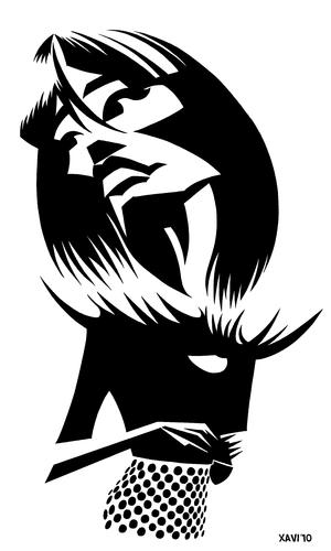 Caricatures de Françoise Hardy Franco11