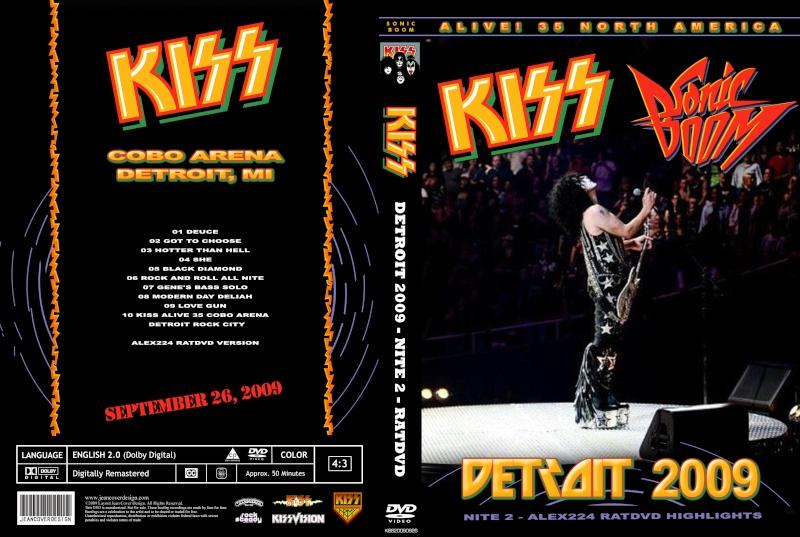 DVD Last KISS at Cobo Hall ? 20092016