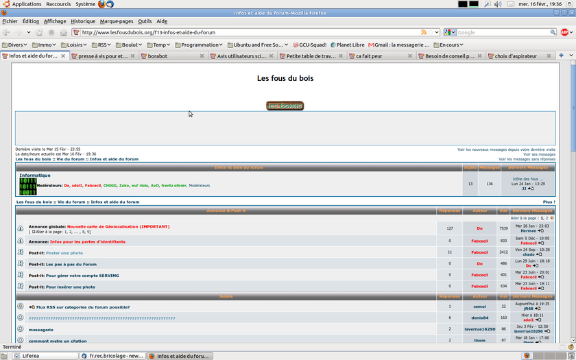Flux RSS sur categories du forum possible? Captur10