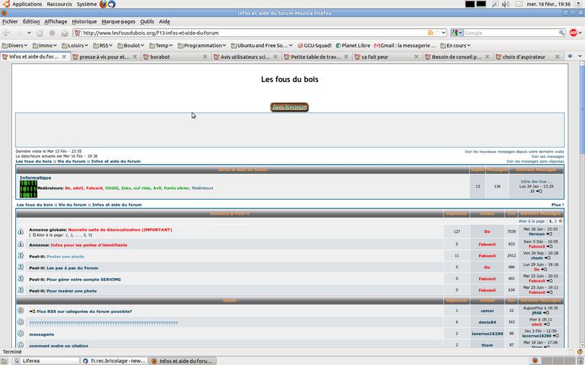 Flux RSS sur categories du forum possible? Captur10