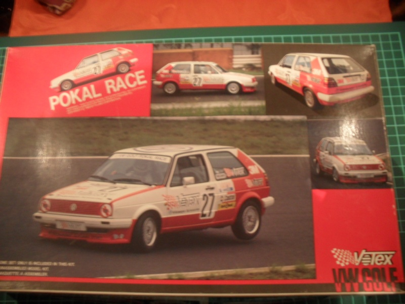 VW Golf 2 Pokal Race Votex / 1:24 Sam_0825