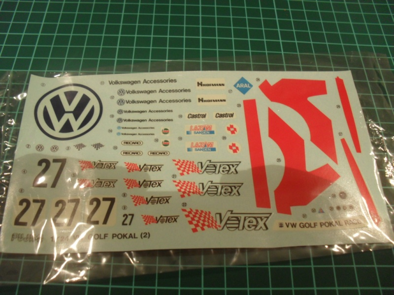 VW Golf 2 Pokal Race Votex / 1:24 Sam_0832
