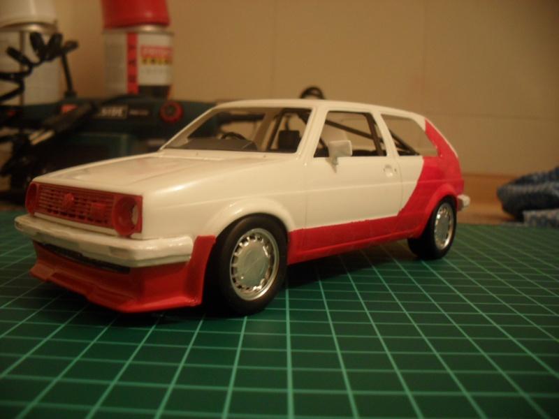 VW Golf 2 Votex, Fujimi 1:24 Sam_0919