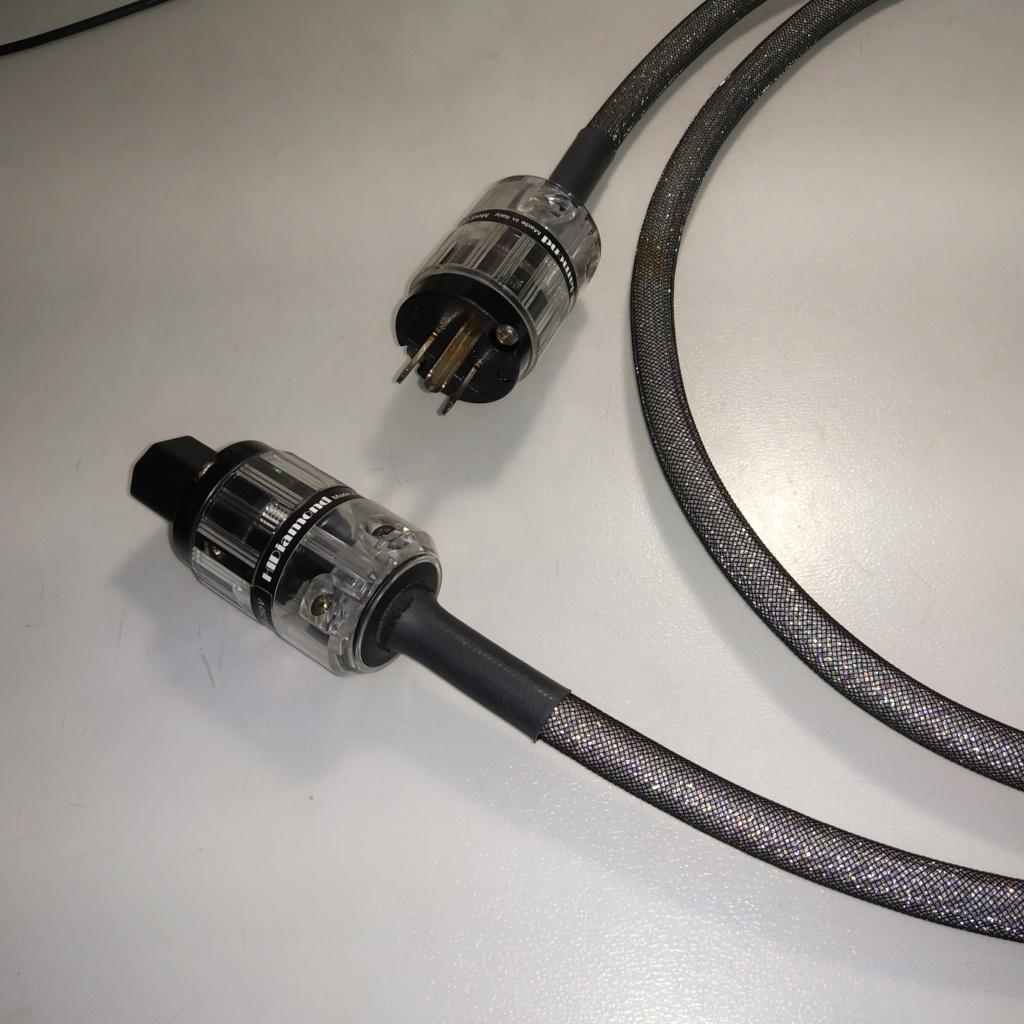 HiDiamond D2 power cord 1.5m us plug  Img_2028