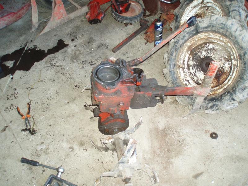 vérifier niveau huile pont terra motoculteur P1010010