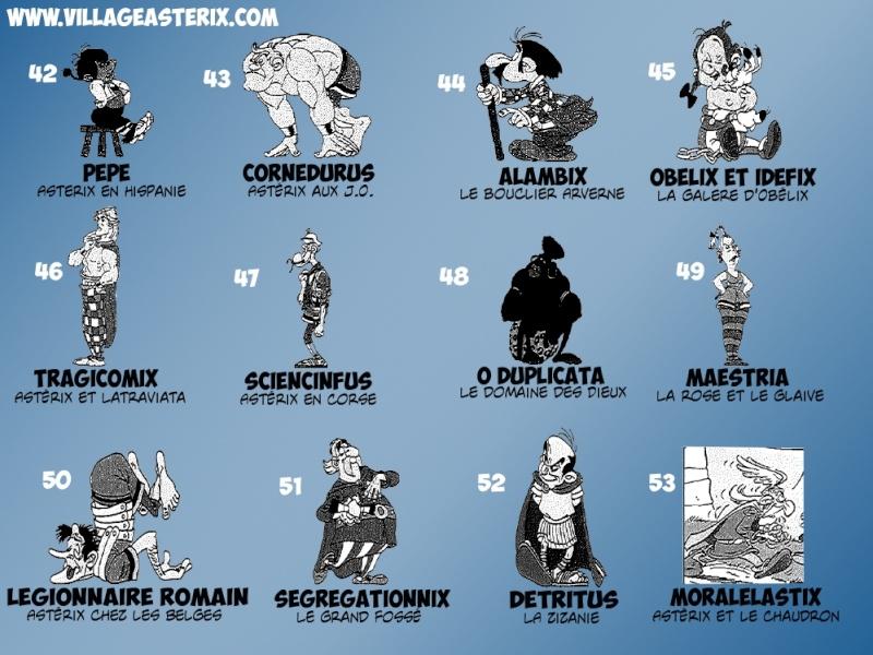 « Astérix, la grande galerie des personnages » - Hachette-Collections (2011-2012) Asteri13