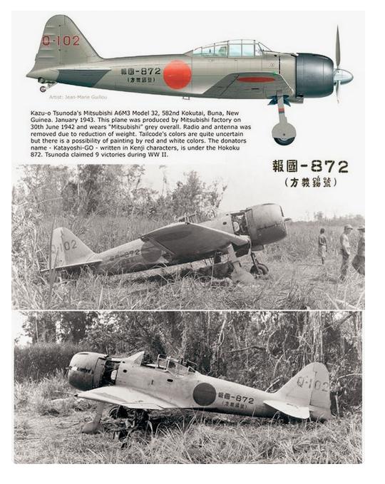 A6M2 Zéro et tous les autres z'éros de J.C Captur51