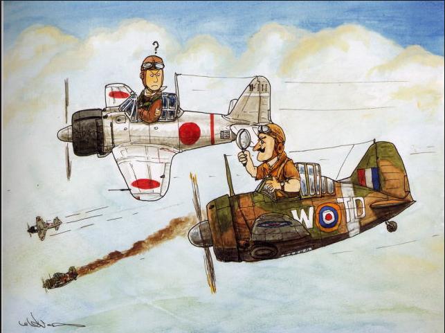 A6M2 Zéro et tous les autres z'éros de J.C Captur80