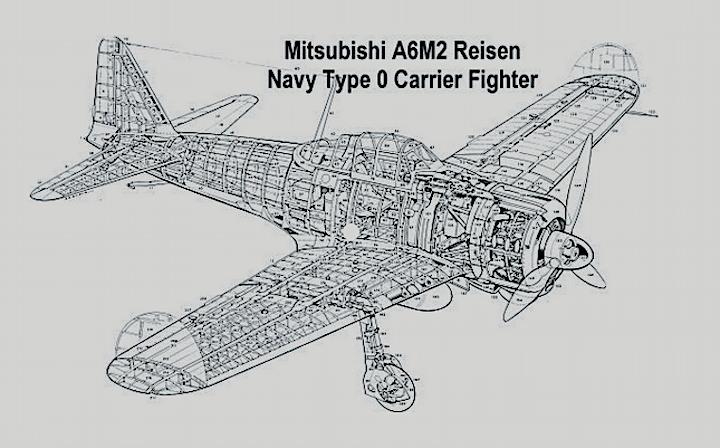 A6M2 Zéro et tous les autres z'éros de J.C Captur96