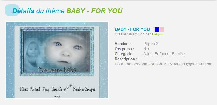 THÈMES ENFANTS - BÉBÉS  Baby-f10