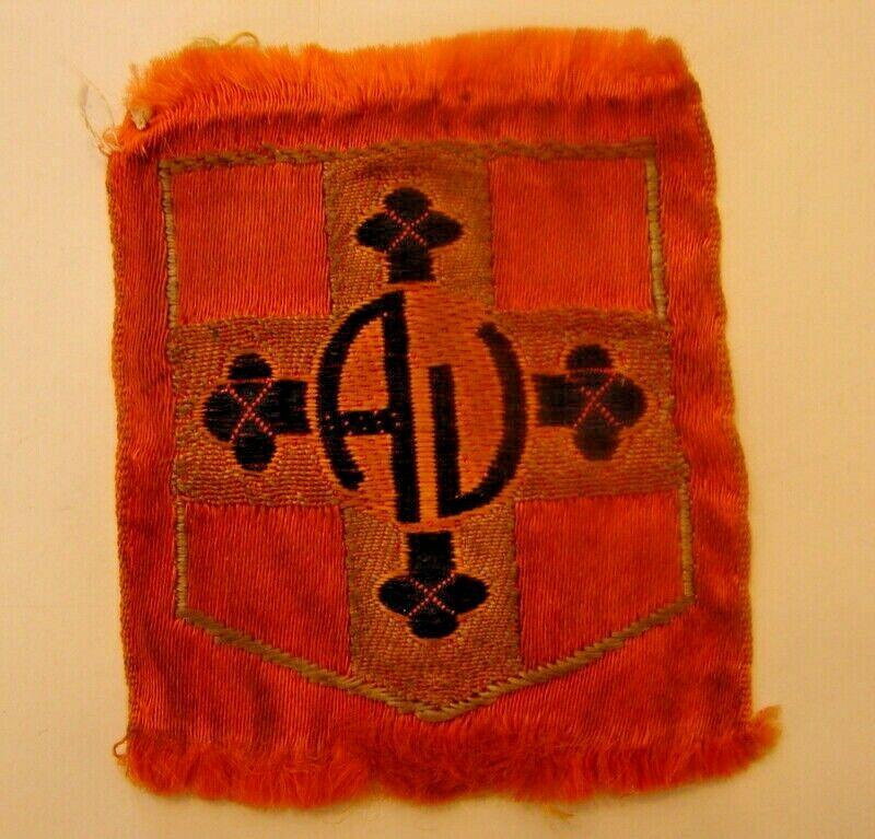 Insigne tissu  mouvement de jeunesse Catholique  S-l16011