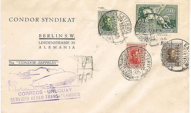 Südamerikafahrten LZ 127 1932 14210
