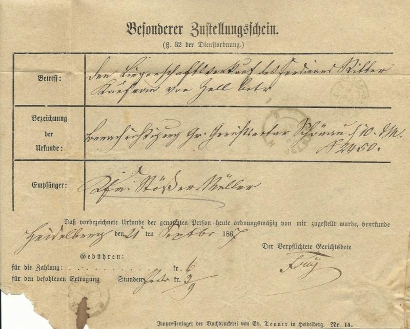 Baden: Schöne Briefe aus Heidelberg - Seite 2 17a_1812