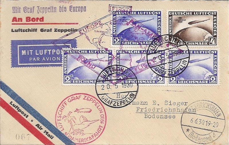 """Südamerikafahrt 1930 (Rundfahrt-) Post nach Friedrichshafen"""" - Seite 4 57_g_b10"""